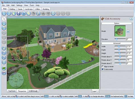 landscaping software free version