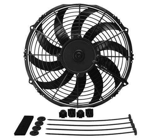 extreme garage fan blades derale 16112 extreme curved blade fan