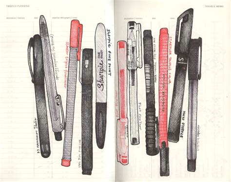 sketchbook and pen andrea joseph coolpima s