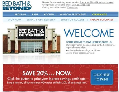 bed bath and beyond coupons 20 bed bath and beyond entire printable coupon 2015 best