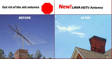 lava indoor ourdoor hdtv antenna hd600