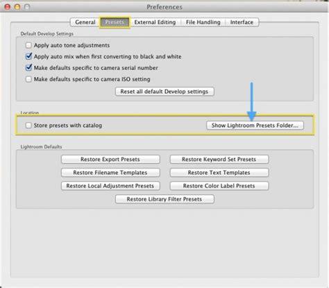 tutorial lightroom mac lightroom tutorial how to install presets