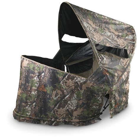 sit 2 chair blind mossy oak 174 up