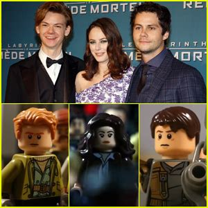 actor maze runner the death cure maze runner the death cure cast gets turned into legos