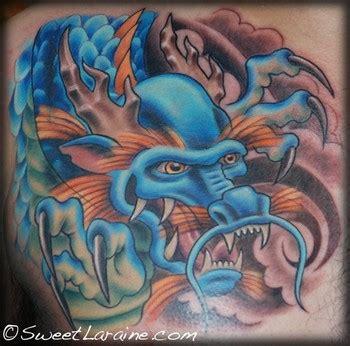 new school dragon tattoo sweet laraine japanese dragon