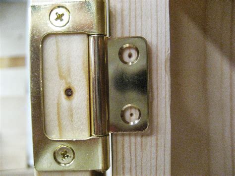 Cabinet Door Hinges Installation Installing Non Mortise Hinges On Inset Cabinet Doors With Frame