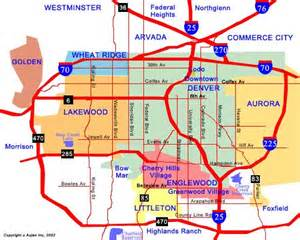 denver map outravelling maps guide