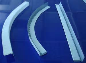 pbm metalsceen steel galvanized curved profiles for
