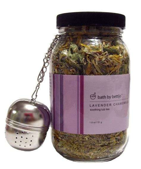 Does Chamomile Tea Detox by Bath By Bettijo Soothing Tub Tea Lavender Chamomile