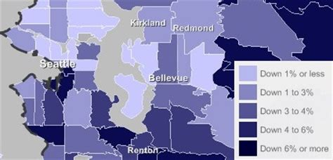 seattle zillow map zillow home values hold in seattle my ballard