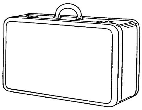 blank suitcase template open suitcase clipart cliparts co