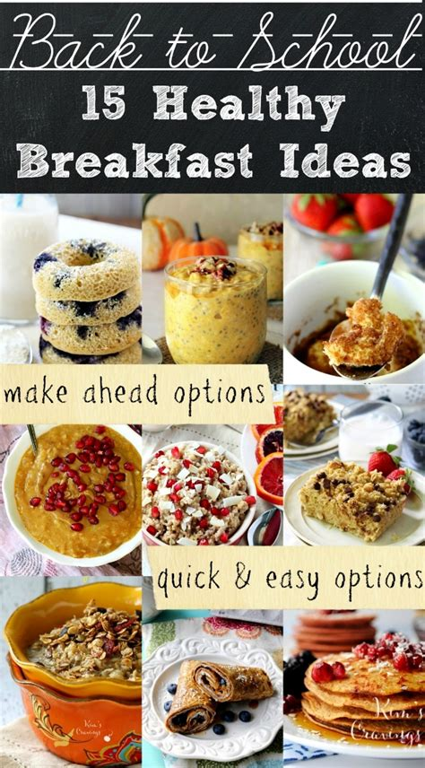 15 on the go breakfast recipes parenting healthy back to school breakfast ideas kim s cravings