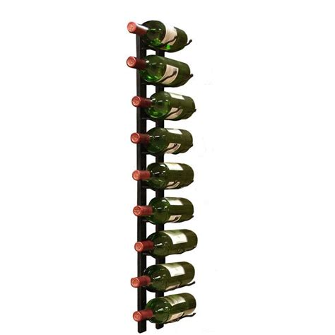 9 bottle wall mounted wine rack products i