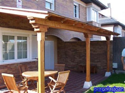 cobertizo enramada construccion de porche no s 233 si hacerlo de obra o de madera