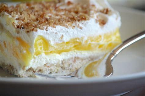 luscious lemon delight an easy to make dessert