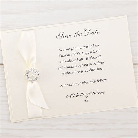 wedding invitation cards uk bow save the date invitation wedding invites