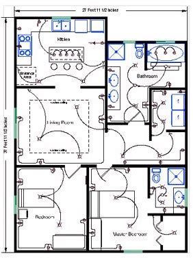 electrical floor plan residential wire pro software draw detailed electrical