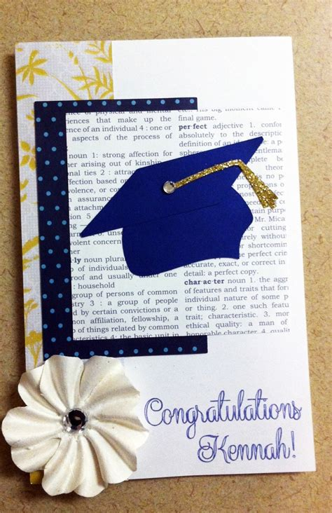 Handmade Graduation Card - graduation card cards picture pages