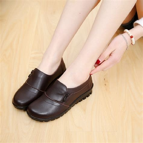 comfortable shoes for elderly 2016 spring and autumn fashion soft bottom non slip