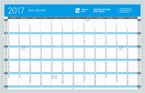 yearly financial planner template calendar template 18 free psd vector eps png format