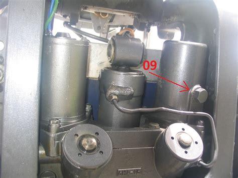 yamaha boat motor tilt and trim replacing trim tilt motor on yamaha 70 without removing