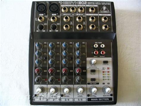 Mixer Behringer Xenyx 802 behringer xenyx 802 image 281233 audiofanzine