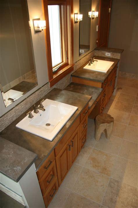 Bathroom Countertops Seattle Squak Mountain Hazel Modern Vanity Tops And