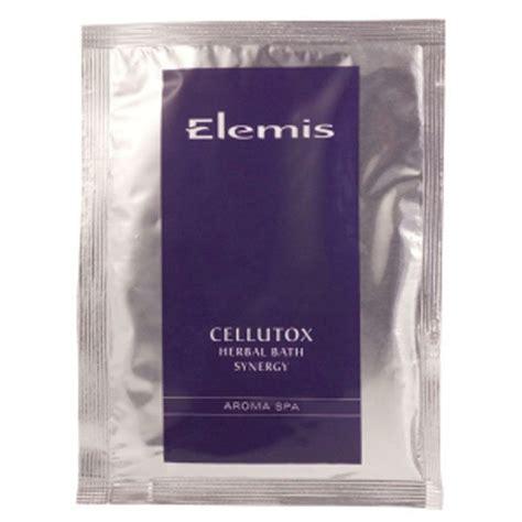 Cellutox Detox With Algae by Elemis Cellutox Herbal Bath Synergy Sachets 10x30g