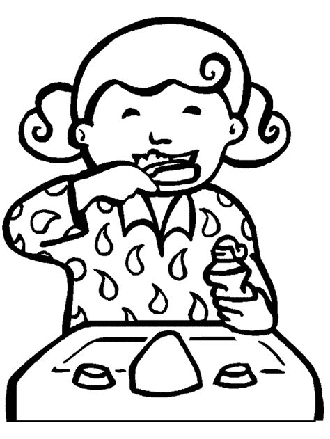 January 2012 The Librarian S Brain Healthy Teeth Coloring Pages