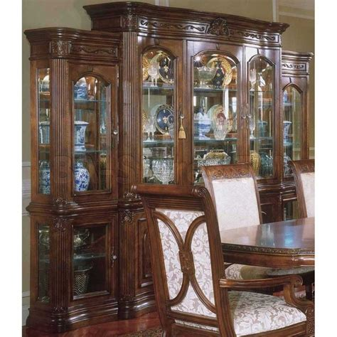 dining room table and china cabinet furniture dining room french country sets glass for