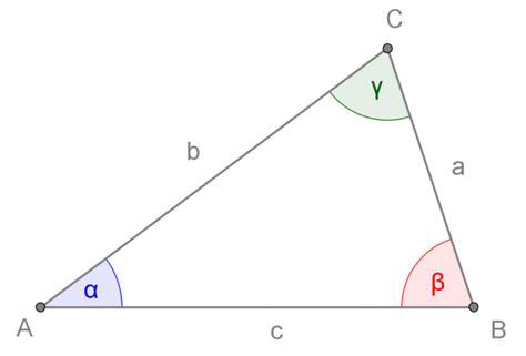 somma angoli interni triangoli openprof