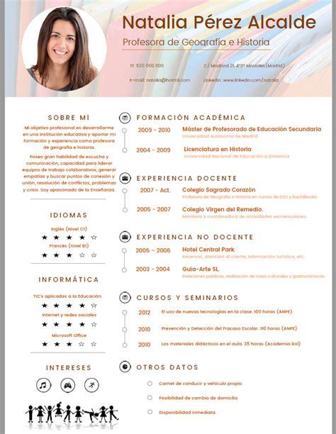 Modelo Curriculum Vitae Profesor Ingles Curriculum De Profesor De Preparatoria Curriculum De Profesor De Preparatoria 28 Images