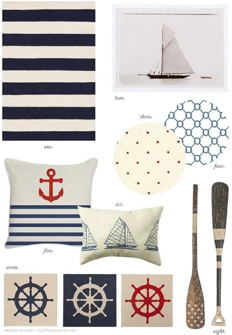 Nautical Themed Curtains Decorating Nautical Themed Decor For The Home Pinterest