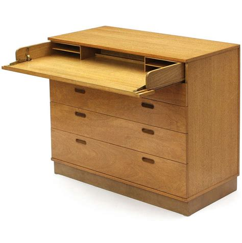 Chest Of Drawers With Desk by Desk Chest Of Drawers By Edward Wormley At 1stdibs