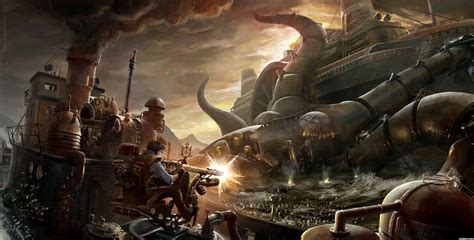 Home Interior Design Games Online by Steampunk Images Steampunk Octopus Hd Wallpaper And