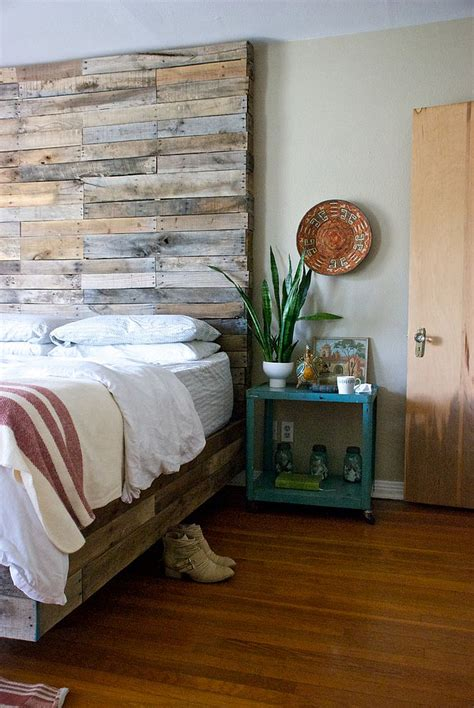 wooden bedroom 25 awesome bedrooms with reclaimed wood walls