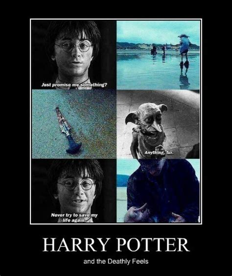 Harry Potter House Meme - harry potter and the deathly feels feels know your meme