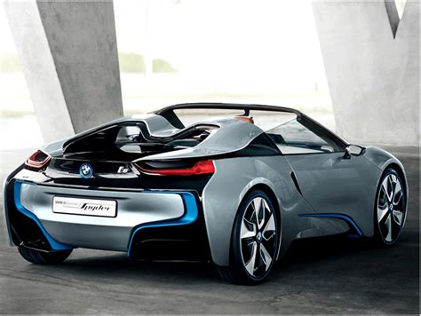 concept bmw i8 bmw i8 spyder hybrid concept electric cars and hybrid