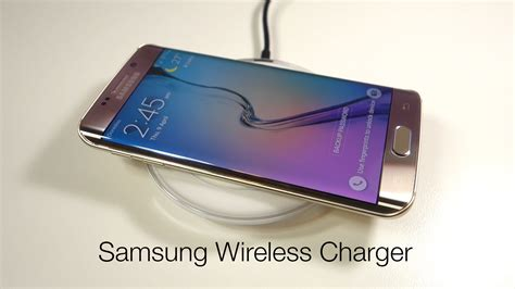 Wireless Charger For Samsung Galaxy S6 S6 Edge Origina Putih samsung wireless charging pad for galaxy s6 s6 edge qi standard