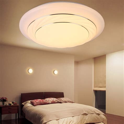 modern bedroom led ceiling light  living room surface mount fixture dimmable ebay