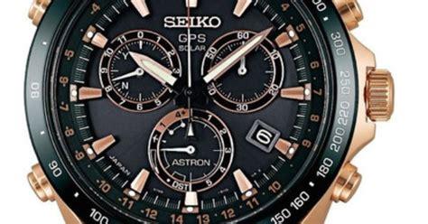 Seiko Sas032j Astron Gps Solar Black Gold seiko astron gold black chronograph rubber