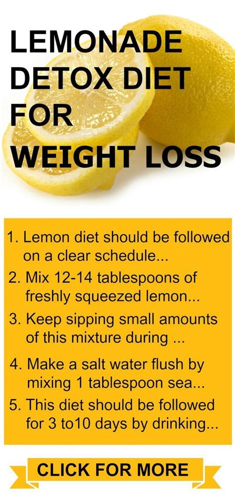 Detox Diet To Lose Weight by Lemonade Diet Proven Diet For Weight Loss Cleansing