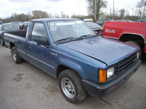 1989 Dodge Ram 50 Jb7fl29e9kp004862 Bidding Ended On 1989 Blue Dodge Ram 50