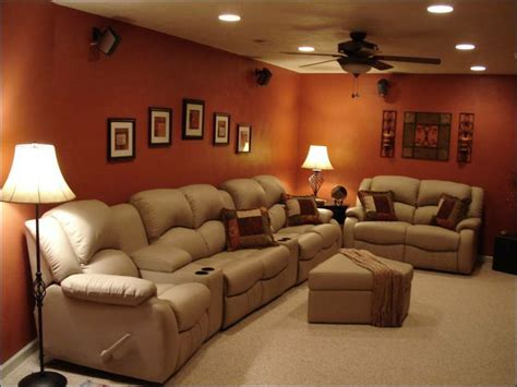 basement color schemes basement wall color for the home