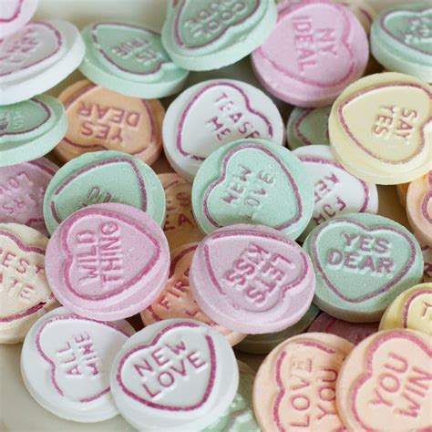 love heart mini packs wedding sweets at favour this