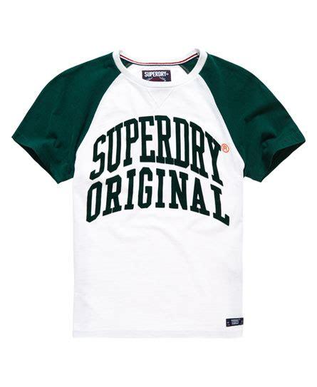 Original Tshirt Raglan superdry original raglan t shirt herren t shirts