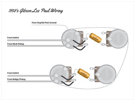 wiring diagram for les paul style guitar new wiring