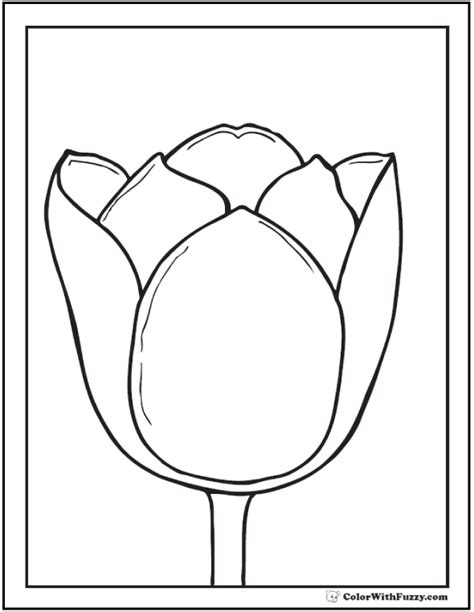 gogh coloring book grayscale coloring for relaxation coloring book therapy creative grayscale coloring books tulip flower coloring pages 14 pdf printables