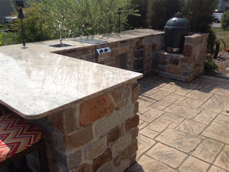 Outdoor Kitchen Lighting Outdoor Kitchen Lighting C E Pontz Sons Landscape Contractors