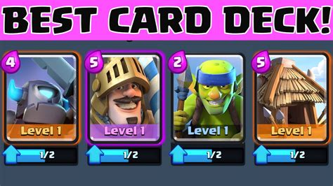 clash royale best cards deck for beginners and experts early strategy